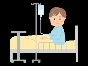 C型肝炎による入院のイメージ像