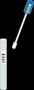 HPVウイルスの検査のイメージ像
