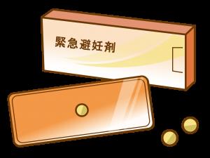 アフターピルの治療薬のイメージ像